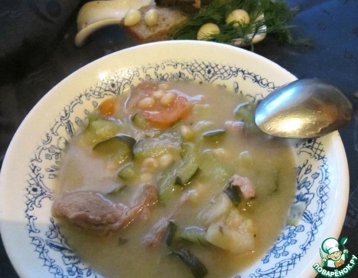 Рецепт: Томленый суп по-деревенски