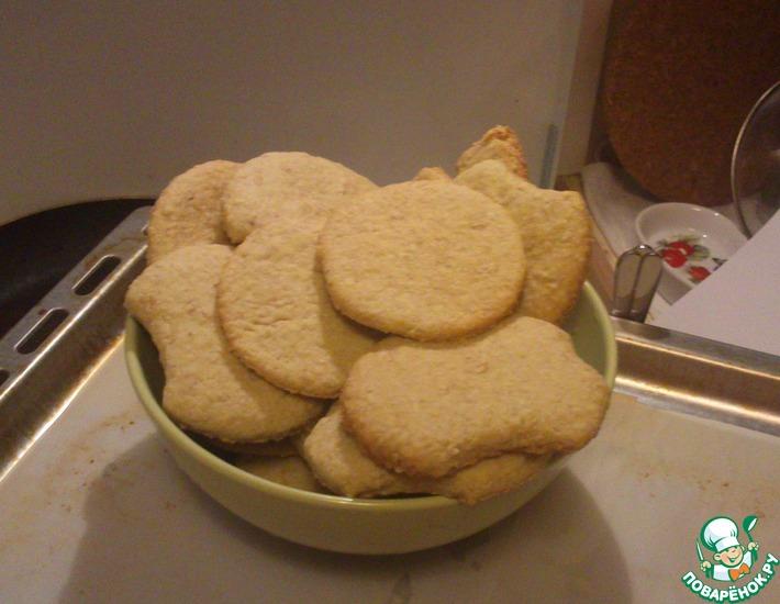 Рецепт: Печенье Постное