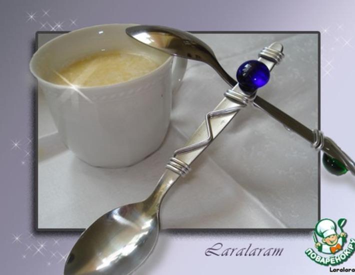Рецепт: Белый кофе Люкс для себя любимого