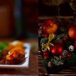 Тёплый салат с куриной грудкой и нектаринами