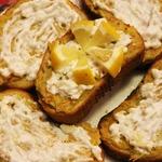 Бутерброд Чесночный с картошечкой