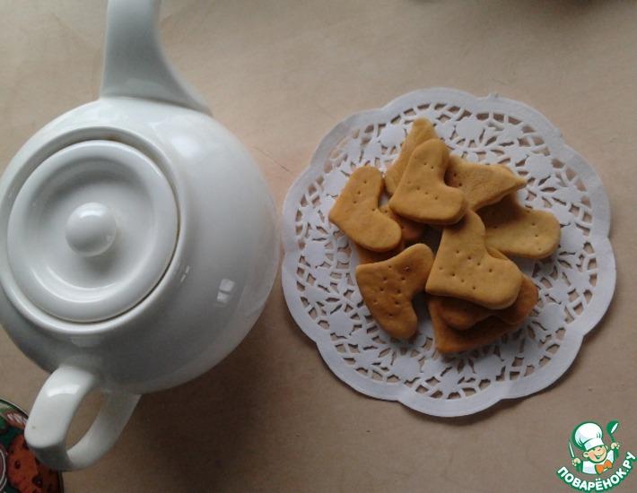 Рецепт: Галетное печенье Мария