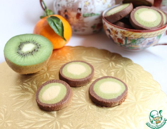 Рецепт: Печенье Киви