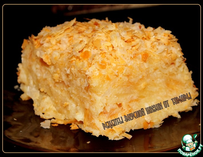 Рецепт: Торт а-ля Наполеон