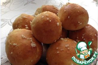Рецепт: Картофельные пампушки к борщу