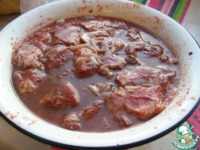 Маринад для шашлыков на томатном соке