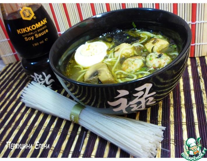 Рецепт: Япо-суп