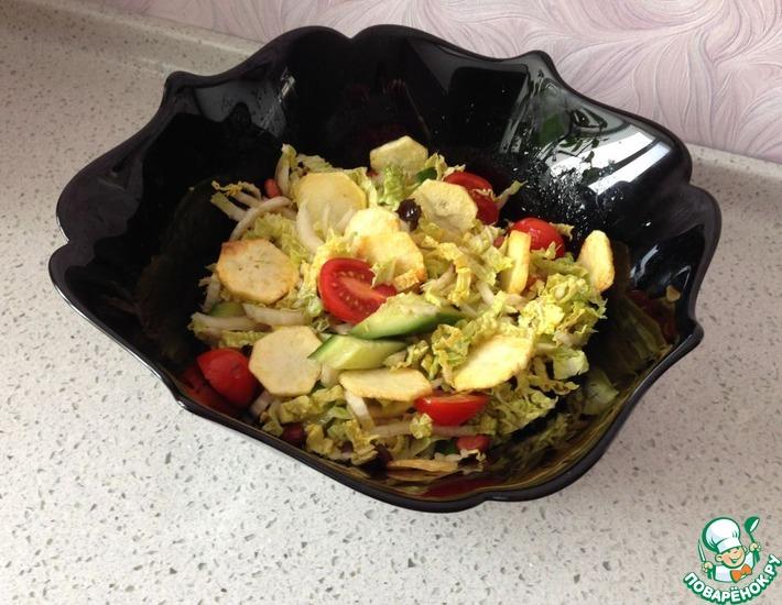 Рецепт: Салат с чипсами