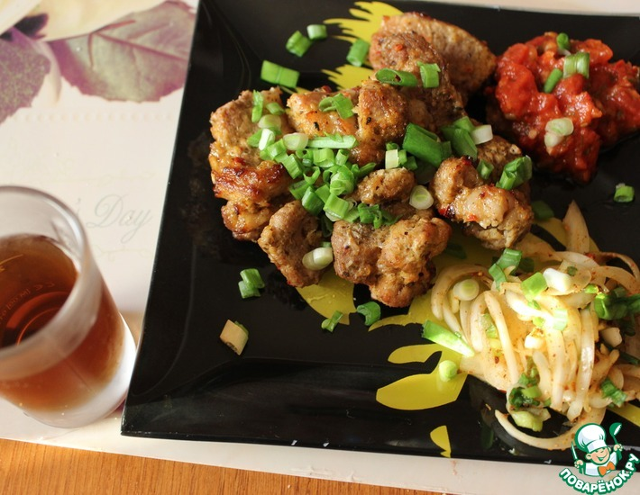 Рецепт: Шашлык в духовке от Дундука-кулинара