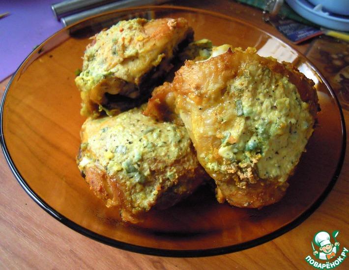 Рецепт: Пряные куриные бедра