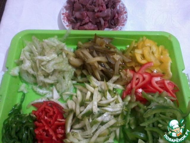 как приготовить салат по пекински