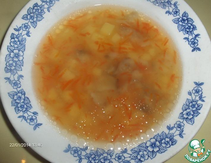 Рецепт: Рыбный суп с рисом