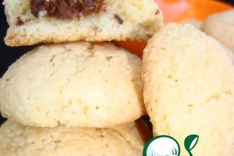 Рецепт: Миндальное печенье с начинкой