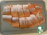 Заливное из красной рыбы ингредиенты