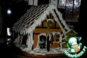 Рецепт: Пряничный домик Рождественский