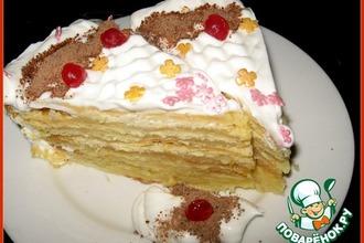 """Рецепт: Торт Наполеон """"Экономная жена"""""""