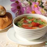 Суп с фасолью и овощами