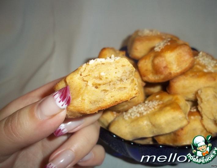 Рецепт: Слоеное печенье из картофеля