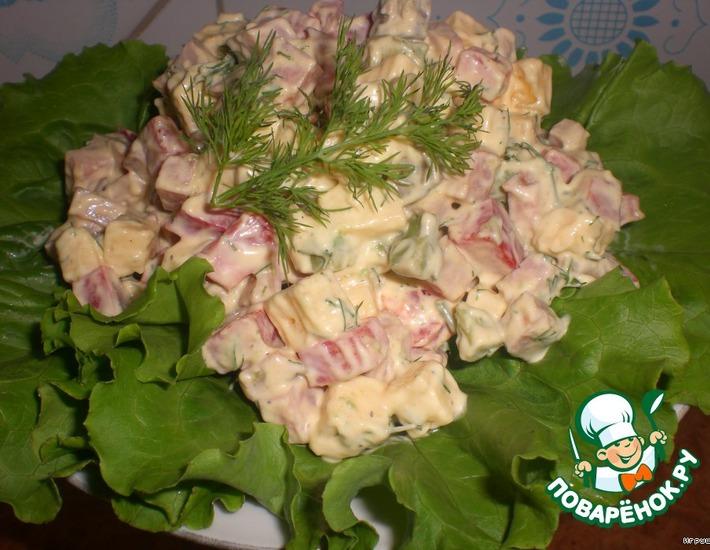 Рецепт: Салат К празднику