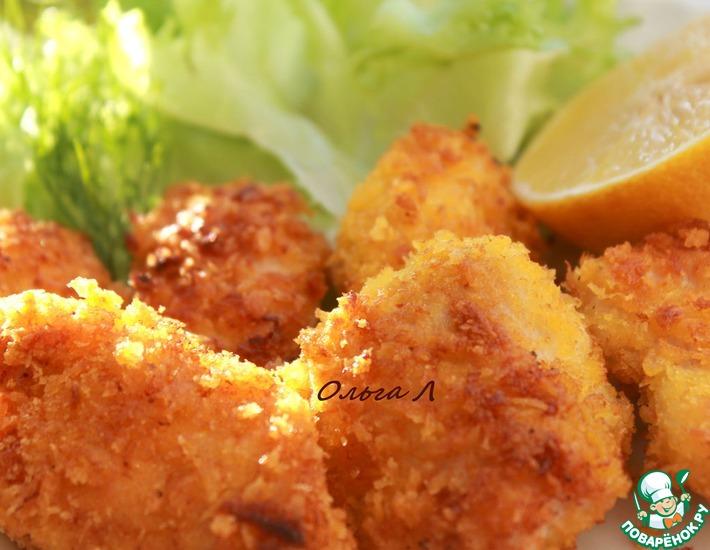 Рецепт: Тори темпура с куриными грудками