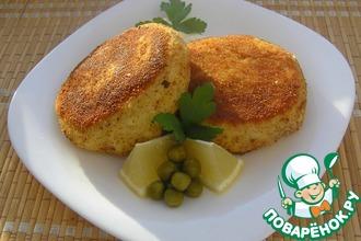 Рецепт: Сырно-картофельные биточки с начинкой