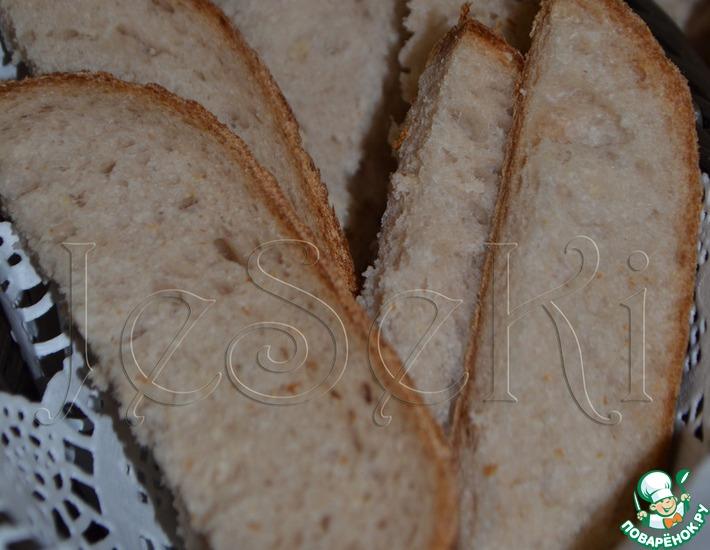 Рецепт: Изысканный французский хлеб