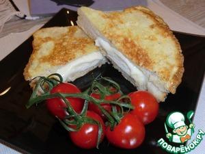 Моцарелла ин кароцца – кулинарный рецепт