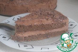Рецепт: Шведский шоколадный торт