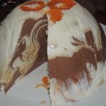 Творожный торт Мраморный