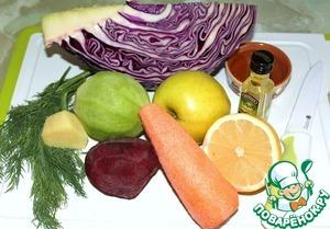 Любимый салат из капусты – кулинарный рецепт