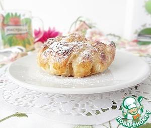 """Яблочные слойки """"Жалюзи"""" – кулинарный рецепт"""