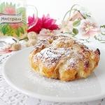 Яблочные слойки Хризантемы