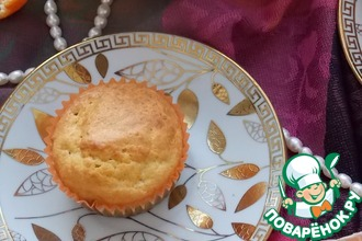Рецепт: Мандариновые кексы