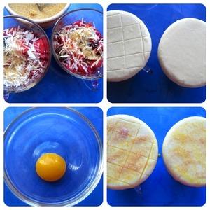 Ягодные слойки – кулинарный рецепт