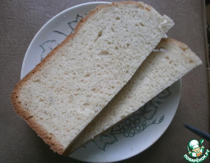 Рецепт: Хлеб белый с манкой
