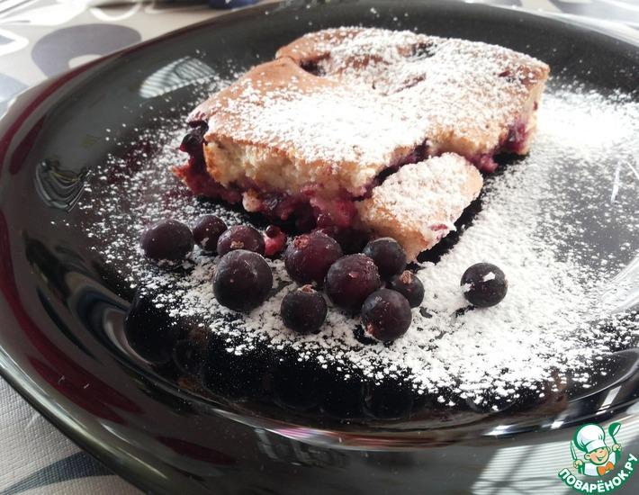 Рецепт: Пирог Ягодка