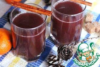 Рецепт: Глинтвейн с апельсиновым соком