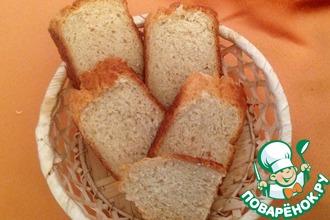 Рецепт: Хлеб из овсяной муки Селяночка