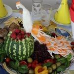 Журавлик из дайкона – кулинарный рецепт