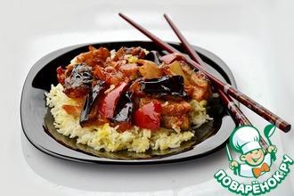 Рецепт: Баклажаны по-китайски