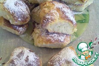 Рецепт: Вкусные домашние булочки