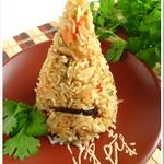 Рис по-малазийски с куриным филе и грибами