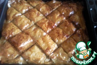 Рецепт: Баклава ( Пахлава)