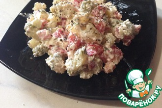 Рецепт: Картофельный салат