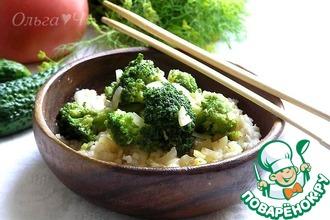 Рецепт: Рис с брокколи по-китайски
