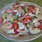 Салат из свежих овощей Предчувствие