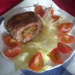 Зразы с помидорами, сыром и укропом