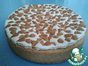 Рецепт Пирог из песочного теста с повидлом и прослойкой безе