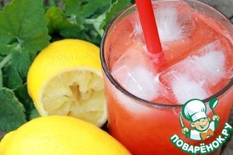 Рецепт: Клубничный лимонад