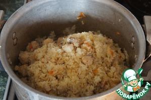Рыбный плов – кулинарный рецепт